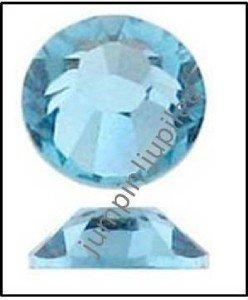 AQUA Aquamarine Swarovski Crystal Flatback 2028 Rhinestones 144 pieces 2.5mm 9ss