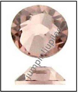 VINTAGE ROSE Pink Swarovski Rhinestones 2028 Crystal Flatback 12 pieces 5mm 20ss
