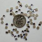 SQUARE Crystal Clear Swarovski Flatback 2400 Rhinestones 144 pieces 3mm