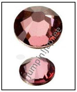 ANTIQUE PINK Swarovski Crystal New Color 2058 Flatback Rhinestones 36 5mm 20ss