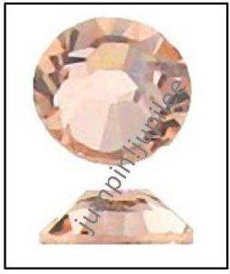 LIGHT PEACH Swarovski Crystal New 2058 Flatback Rhinestones 144 pieces 3mm 12ss
