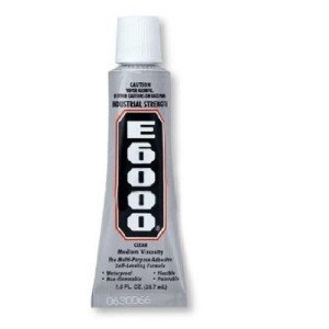 E6000 Rhinestone Crystal Gem Craft Glue Adhesive 1 oz