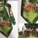 Exclusive Gift for MEN'S Hand painted men necktie Home sweet home FREE SHIPPING