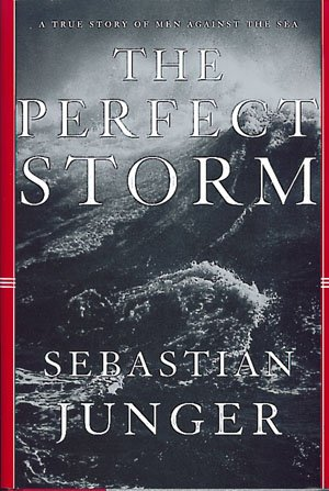 "Sebastian Junger ""The Perfect Storm"" Hardback Book"
