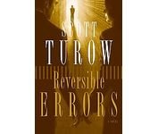 "Scott Turow ""Reversible Errors"" Hardback Book"