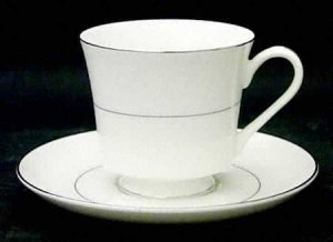 "Chadds Ford Fine China ""Queen's Lace"" Cup and Saucer"