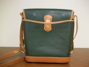 AUTHENTIC Dooney & Bourke All-Weather Leather Purse with Adjustable Strap