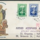 MALTA - 1954 IMMACULATE CONCEPTION FDC - J0087