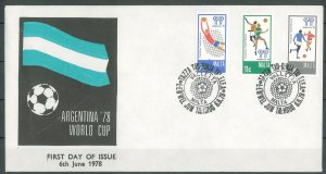 MALTA - 1978 WORLD CUP FDC - J0093