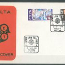 MALTA - 1976 EUROPA FDC - J0097