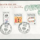 MALTA - 1979 INTERNATIONAL YEAR OF THE CHILD FDC - J0101