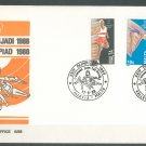 MALTA - 1988 OLYMPICS FDC - J0106