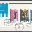 MALTA - 1988 RELIGIOUS COMMEMORATIONS FDC - J0109