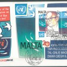 MALTA - 1987 UN RESOLUTION ON SEABED - J0110