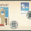MALTA - 1987 EUROPA - J0112