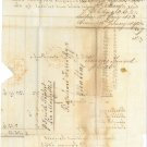 GREAT BRITAIN - 1853 LETTER TO MALTA - J0155