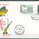 MALTA - 1971 DUN KARM PSAILA FDC - J0164