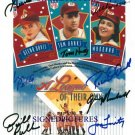 A LEAGUE OF THEIR OWN CAST SIGNED RP PHOTO DAVIS PETTY+