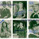 THE F-TROOP CAST SIGNED AUTOGRAPHED RP PHOTO KEN BERRY