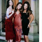 CHARMED CAST SIGNED AUTOGRAPHED RP PHOTO ALYSSA MILANO
