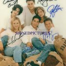 "FRIENDS CAST ""ALL 6"" SIGNED AUTOGRAPHED 8x10 PHOTO"