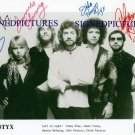 STYX GROUP SIGNED AUTOGRAPHED RP PHOTO PIECES OF EIGHT