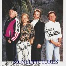 THE BEACH BOYS SIGNED RP PROMO PHOTO ALL 4 CALIFORNIA