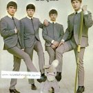 THE BEATLES GROUP BAND SIGNED RP PROMO PHOTO LEGENDARY