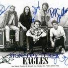 THE EAGLES GROUP 5 SIGNED AUTOGRAPHED 8x10 PHOTO JOE WALSH GLENN FREY DON HENLEY FELDER SCHMIT