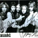 THE SCORPIONS GROUP SIGNED AUTOGRAPHED RP PHOTO ALL 5