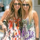 MILEY CYRUS AND ASHLEY TISDALE SIGNED AUTOGRAPHED RP