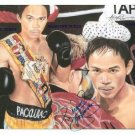 MANNY PACMAN PACQUIAO SIGNED AUTOGRAPHED RP PHOTO