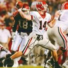 JOE COX SIGNED AUTOGRAPHED RP PHOTO GEORGIA QB