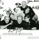 FRASIER CAST SIGNED AUTOGRAPHED RP PHOTO KELSEY GRAMMER