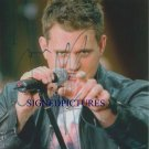 MICHAEL BUBLE SIGNED AUTOGRAPHED RP PHOTO GREAT SINGER