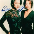 NEVE CAMPBELL AND COURTENEY COX SIGNED AUTOGRAPHED RP