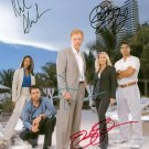 CSI MIAMI CAST SIGNED AUTOGRAPHED RP PHOTO C.S.I.