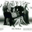 ALLY MCBEAL CAST SIGNED AUTOGRAPHED 8x10 STUDIO RP PHOTO