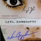 GIRL INTERRUPTED CAST SIGNED RP ANGELINA JOLIE & RYDER