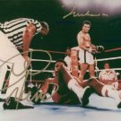 MUHAMMAD ALI AND FOREMAN SIGNED AUTOGRAPHED RP PHOTO