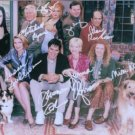 DHARMA & GREG CAST SIGNED RP PHOTO THOMAS GIBSON ELFMAN