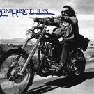 DENNIS HOPPER SIGNED RP PHOTO EASY RIDER CLASSIC BILLY
