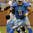 MATT STAFFORD SIGNED AUTO RP PHOTO DETROIT LIONS QB MATTHEW