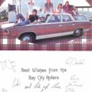 THE BAY CITY ROLLERS SIGNED AUTOGRAPHED RP 6x9 PROMO