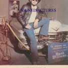 HANK WILLIAMS JR SIGNED RP PROMO PHOTO ALL MY ROWDY FRI