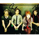 PARAMORE BAND SIGNED AUTOGRAPHED 8x10 RP PHOTO HAYLEY ALL 4