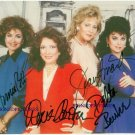 DESIGNING WOMEN CAST SIGNED AUTOGRAPHED RP DIXIE CARTER