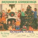 THE PARTRIDGE FAMILY SIGNED 6x8 RP PHOTO CHRISTMAS
