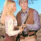 THE BIG VALLEY SIGNED RP PHOTO LEE MAJORS & LINDA EVANS