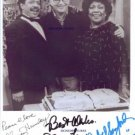 THE JEFFERSONS CAST SIGNED RP 8x10 PHOTO NORMAN LEAR +